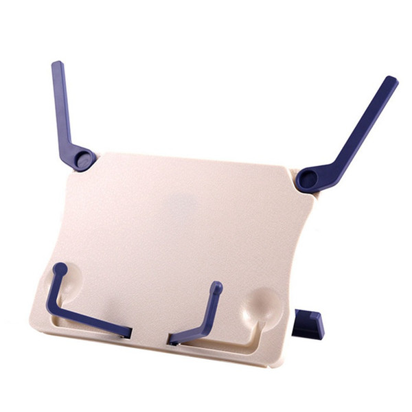 top popular Folding Tabletop Music Stand ABS Sheet Music Holder Applicable for Guitar Piano Violin Universal Musical Instrument 2021