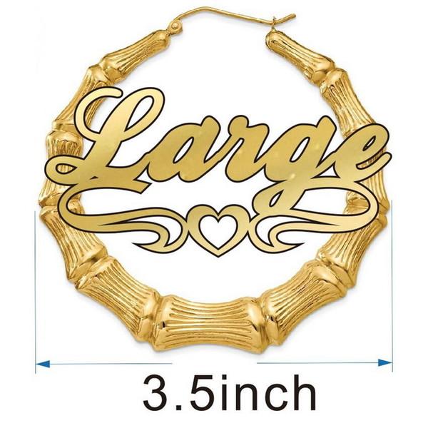 3.5inch الذهب جولة الخط 3