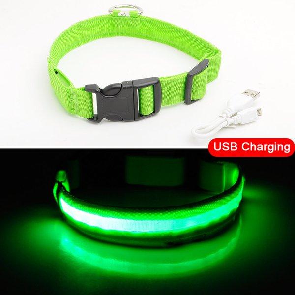 Green USB Charging