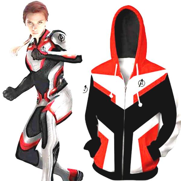 Marvel Avengers 4 Endgame Cosplay Costumes Quantum Realm New 3D Print Fashion Unisex Hoodie Sweatshirt Zipper Jacket Hoodie Trouser T-shirt