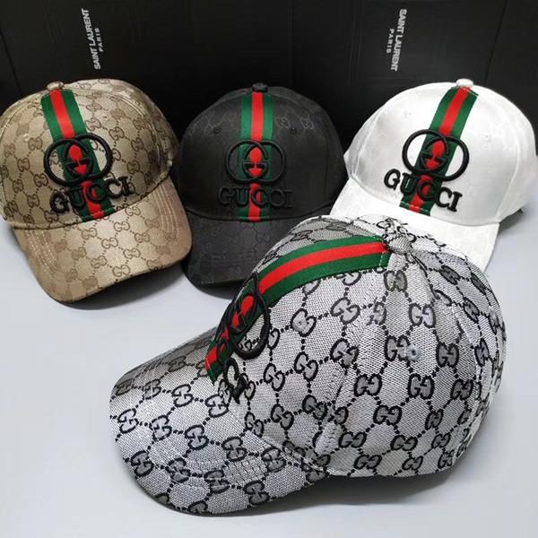 Designer Men women Caps Brand Tiger Head Hats Gold Embroidered bone Men Women casquette Sun Hat gorras Sports Cap Drop Shipping