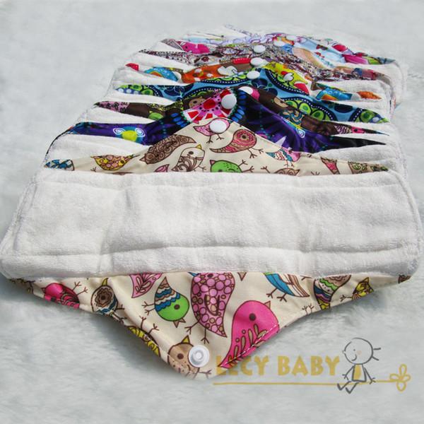 Livraison gratuite organique en bambou intérieur lavable réutilisable hygiène féminine tampons menstruels tampons hygiéniques dame chiffon pad panty liner1pc