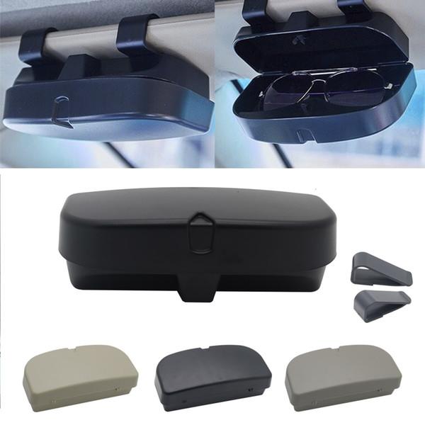 Caso óculos escuros titular Box Óculos Car Armazenamento para Koleos Kadjar Duster para Samsung QM6 QM3
