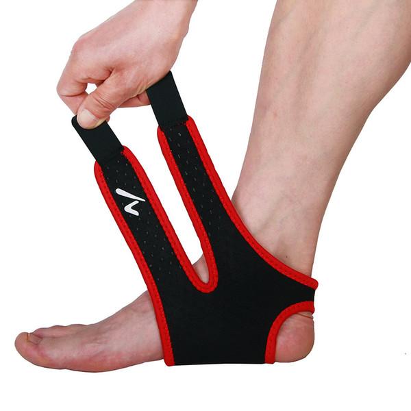 Taekwondo Protector de pie deportivo Elástico Wrap Tobilleras Apoyo Apoyo Kick Boxing Protector Gym Compression Foot Sleeve