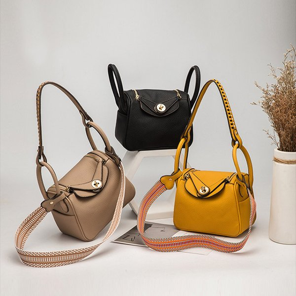 Nouvelle mode des femmes Shoulderbags PU cuir Porte-documents Sacs à main Filles Designer MessengerBags Femme Sac bandoulière oreiller