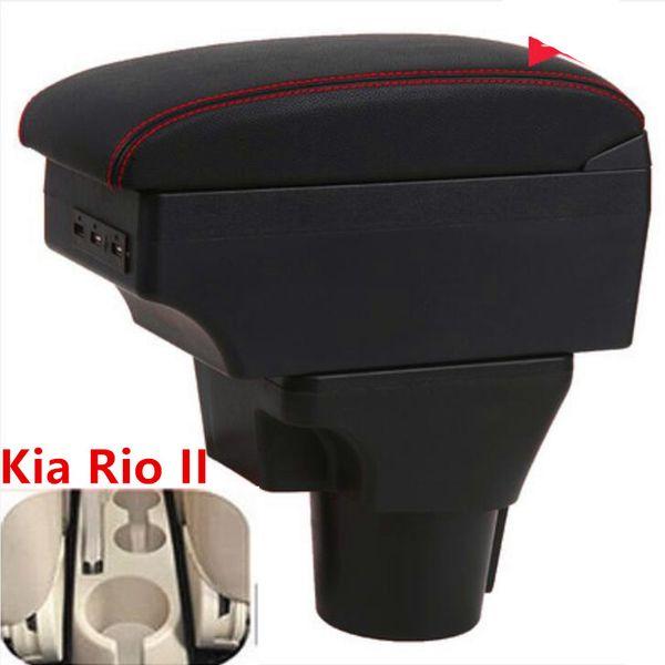 para la caja reposabrazos Kia Rio Kia Rio II 2 almacenes Central cuadro titular contenido de la taza 2006-2010 de modernización accesorios de automoción