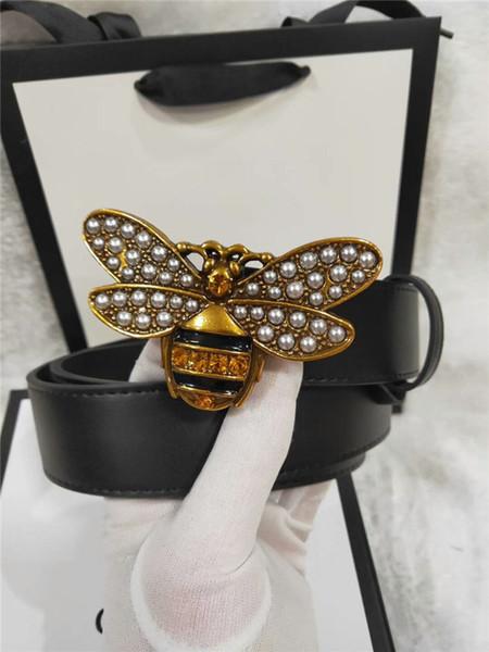 Women Belt Top Luxury Belts Designer new 2019 Big Buckle women Belt Gift Box Free Shipping