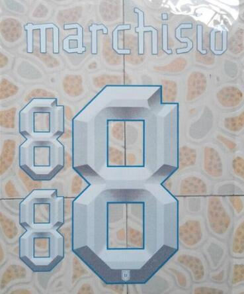white #8 MARCHISIO