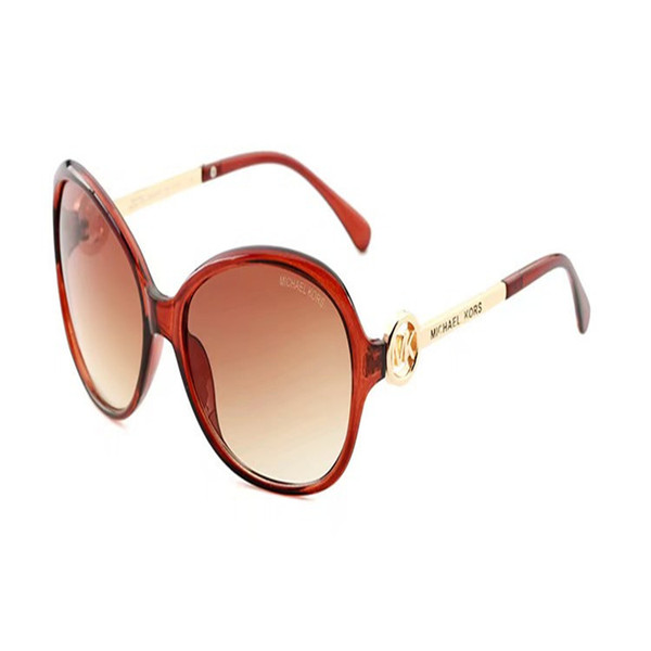 Top Qualité Nouveaux Lunettes De Soleil De Mode Pour Homme Femme Erika Eyewear Designe Marque Lunettes De Soleil Matt Leopard Gradient UV400 Aucune boîte et Cas