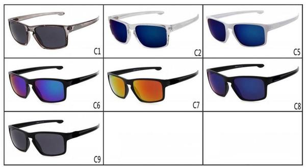 verano nuevos hombres Bicicletas Glass NICE gafas de sol deportivas que conducen gafas de sol mujer Ciclismo UV Dazzle gafas de color A +++