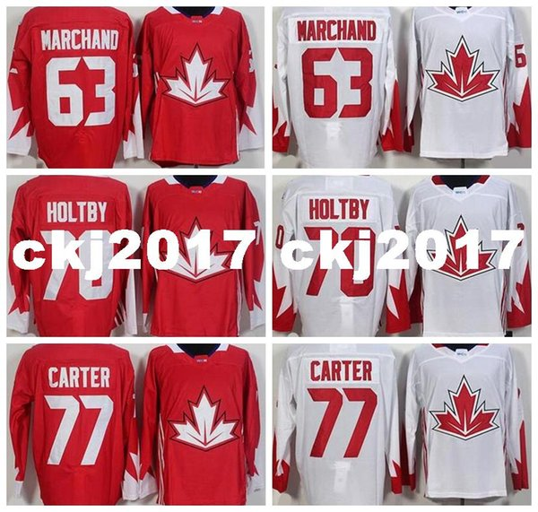 brad marchand canada jersey