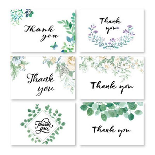 Compre Tarjetas De Agradecimiento Floral Notas De Agradecimiento Con Sobres Para Bodas Baby Shower Aniversario De Despedida De Soltera A 1 46 Del