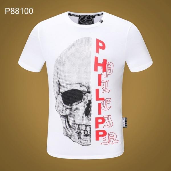 2019 yeni yüksek kaliteli erkek pamuklu high-end T-shirt88100