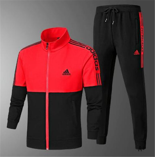 2019 Mens Designer Tracksuits For Mens Sportswear With Letters Autumn Tracksuit Long Sleeve Casual Jogger Pants Suit Clothing L 4XL Available10 From