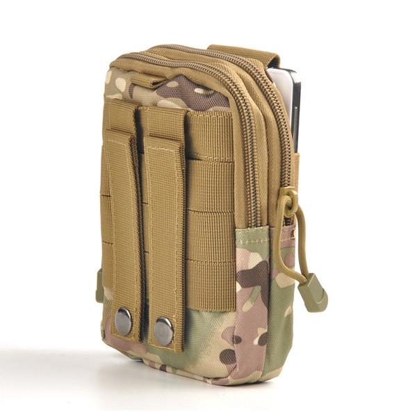 Nouveau sac de taille armée armée sac de chasse militaire EDC D30 Molle imperméable hommes sport de plein air chasse taille Pack 1000D nylon # 921 # 359523