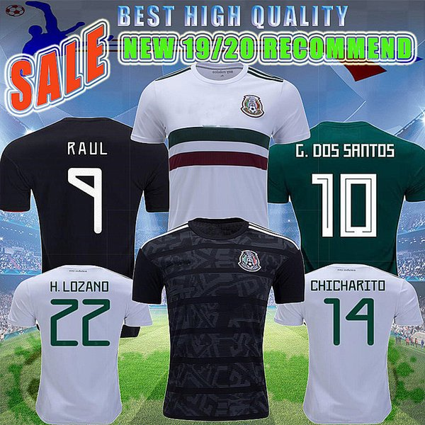 19-20 season Mexico Gold Cup Camisetas CHICHARITO LOZANO MARQUEZ Football Shirt Top National Team Uniform Soccer Jersey