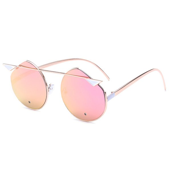 Cat Eye Brand Sunglasses for Women Summer Vintage Style Alloy Legs New Classic Lady Sun Glasses Oculos De Sol Feminino UV400