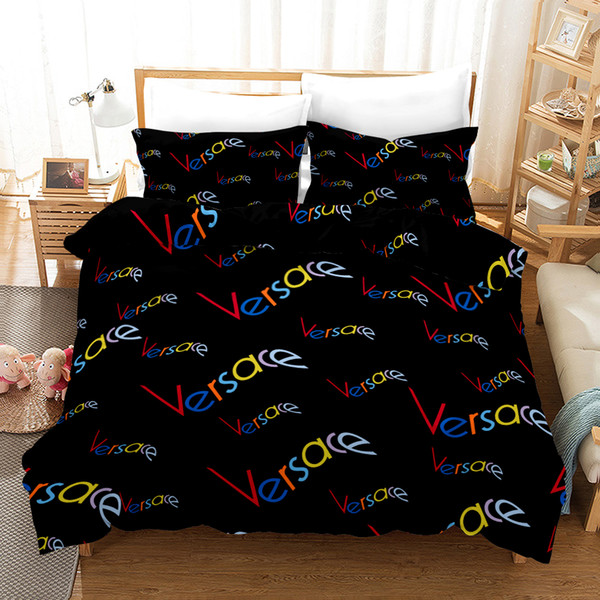 Designer Fashion Bedding Sets King Or Queen Size Bedding Sets Bed Sheets Comforter Bed Comforters Sets 9 Styles Bedding Clearance Mens Duvet Covers