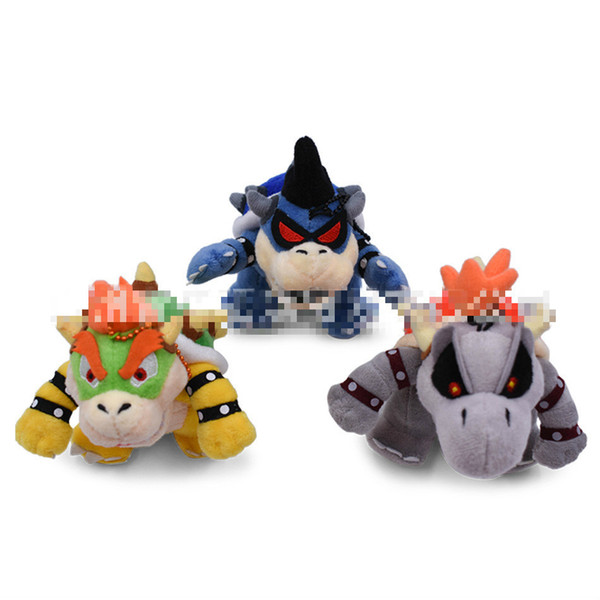 Hot New 13CM Super Mario Bros. Dark Dry Hand Baby Plush Doll Anime Collection Doll Keychain Pendant Plush Gift Plush Toy Free Shipping