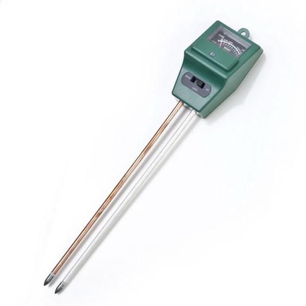 3 en 1 PH Tester Medidor de prueba de luz de humedad del agua del suelo para la planta de jardín Cultivo de flores Plantación Probador de suelo Nave de la gota