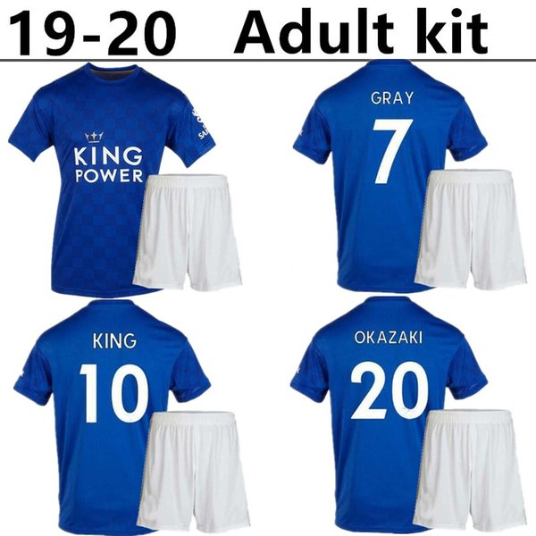 Thailand 2019 2020 Leicester adult kit Top quality soccer jerseys VARDY MAGUIRE City football shirts 19 20 kits NDIDI camisa de futebol