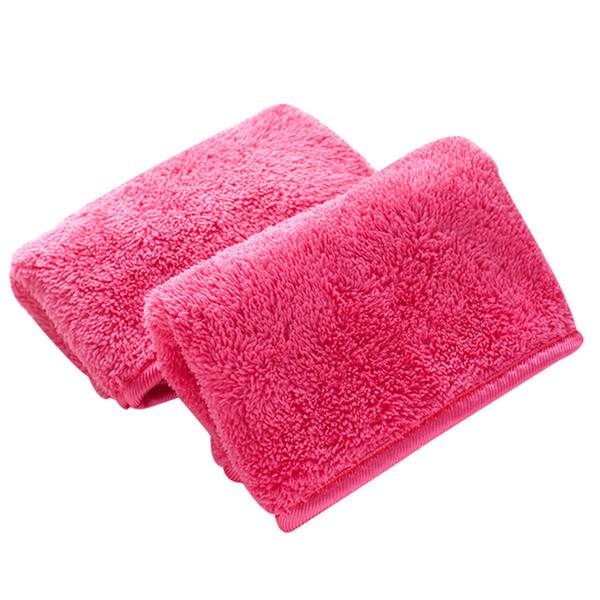 40 * 18 см из микрофибры для снятия макияжа полотенце многоразовые магия для снятия макияжа вытирает салфетки для чистки лица полотенце B11