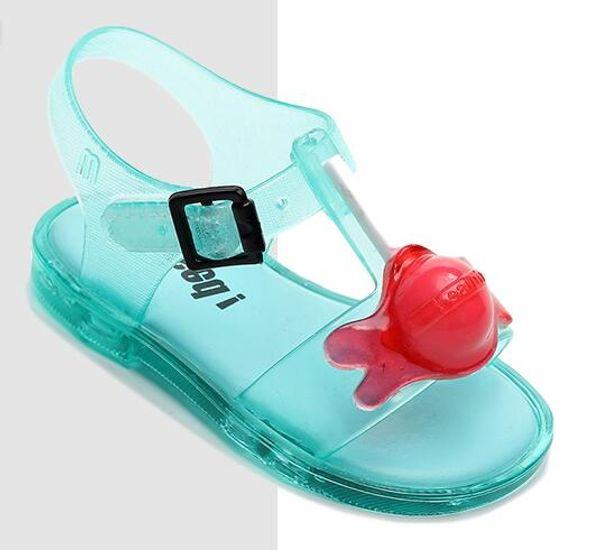 Yeni Orijinal Kız Jöle Sandalet Çocuk Sandalet Çocuk Plaj Ayakkabı kaymaz Toddler Ayakkabı