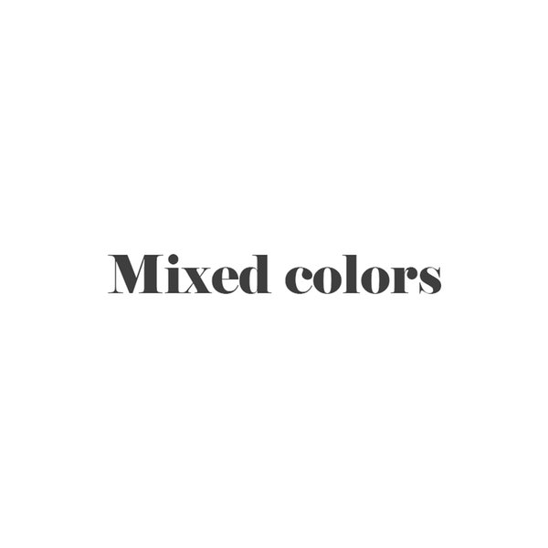 Mixed colors