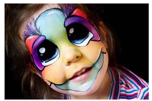 Halloween Christmas Painting Body Painting Halloween Color Oil Painting Art Make Up Party Fancy Dress Makeup Tools Random Style