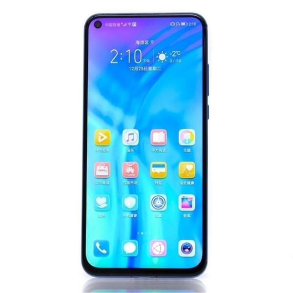 Huawei Honor V20 8GB + 256GB Cina Versione Dual Back Cameras Identificazione delle impronte digitali 6.4 pollici Punch-hole Supporto schermo intero Google PlayNFC