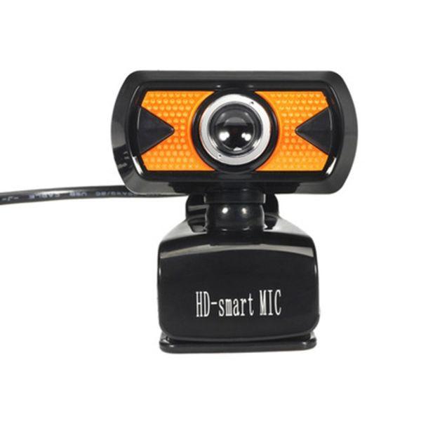 7210 USB Computer Camera 16MP HD Video Recording Web Camera with Mic Auto White Balance Clip-on Cam for Desktop Laptop PC