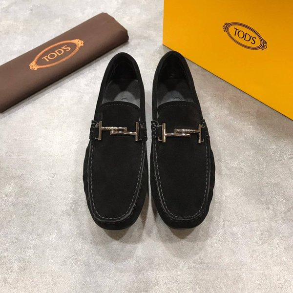 b3090300b6 Moccasins Gommino Leather Drivers With Sylvie Web Buckle Loafers Slippers  Men Flats Casual Camp Moc Moosehide Weekender Shoes Mens Leather Boots Mens  ...