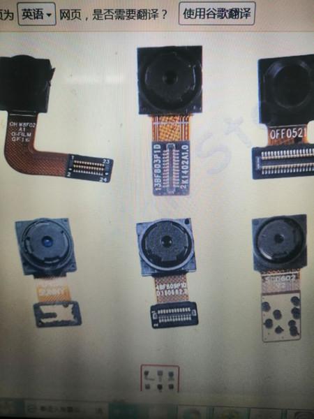 5psc Ön Kamera Flex Kablo İçin Meizu MX2 MX3 MX4 mx6 MX5 mx6 MX Pro 2 3 4 5 6 Cep Telefonu Tamir Parçaları
