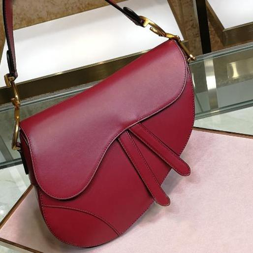 borsa classica a tracolla da donna in pelle di alta qualità borsa da sella borsa da lettera in metallo nuova moda 2019