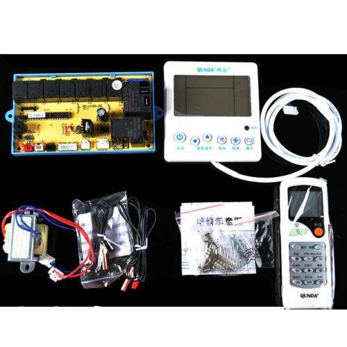 QD-U12A Steuerplatine Computerplatine mit hintergrundbeleuchtetem LCD-Display