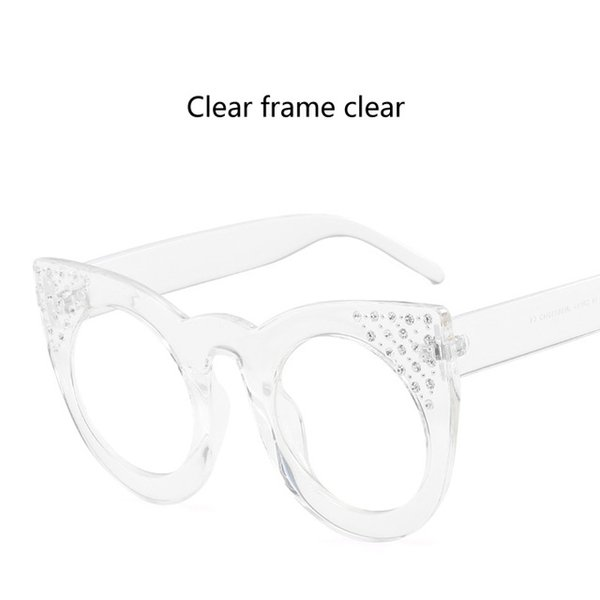Lenses Color:Clear frame clear