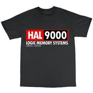 Hal 9000 Tişört% 100 Pamuk Arthur C. Clarke Bilim Kurgu Yapay Zeka