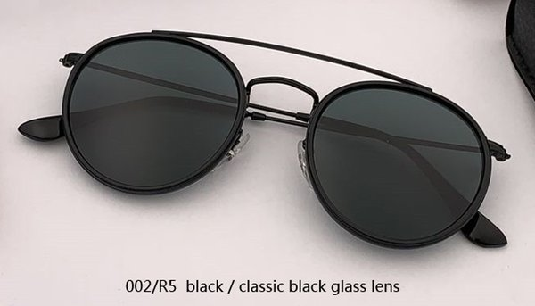 002/R5 black/black glass lens