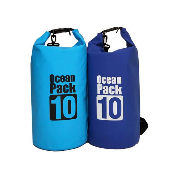Outdoor PVC Waterproof Dry Bag Swimming Sack Storage Pouch Rafting Sports Kayaking Canoeing Bag 20pcs 2L 3L 5L 10L 15L 20L 30L