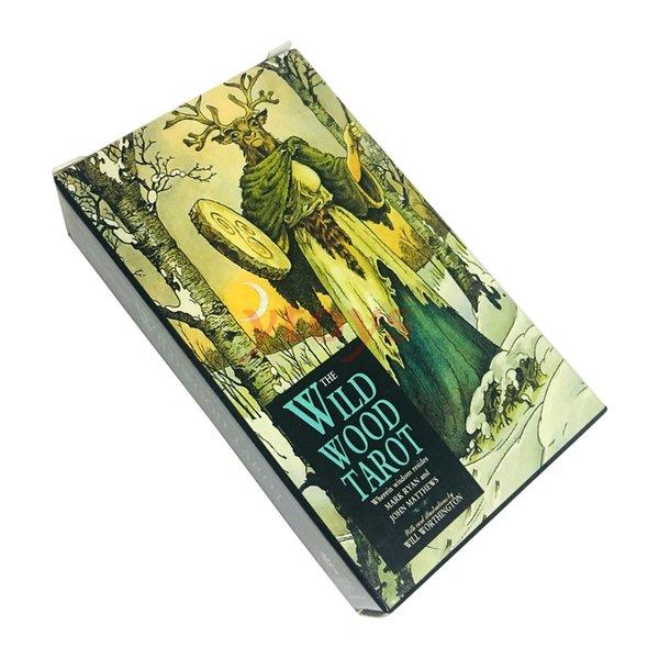 50pcs Wild Wood tarocchi giochi di carte Family Entertainment Board Game Un Ponte 78-CARD e wholsales regalo educativo Guida per bambini