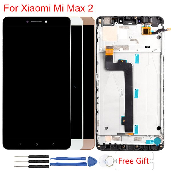 Mi Max 2 Display per Xiaomi Mi Max 2 LCD Cornice originale Touch Screen Assembly Display LCD di ricambio 6,44 pollici