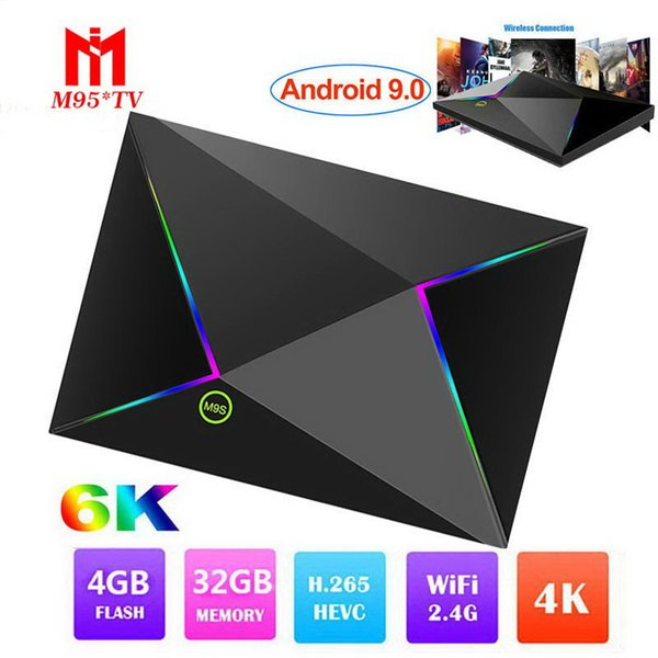 2017 Newest Original M8S PLUS II Android 7 1 TV Box With LCD Amlogic