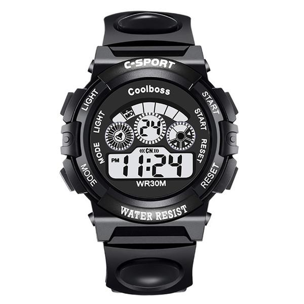 2018 Mode Marke Digitale Uhr Männer Led-datum Sport Military Gummi Leben Wasserdichte Uhr Alarm Relogio Masculino Wristwatche Herrenuhren Uhren