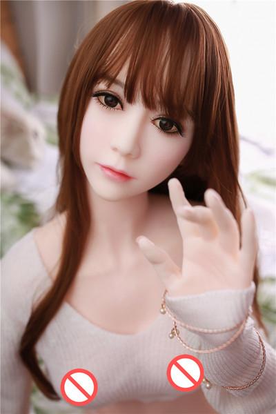 165 cm 3D Realista pecho grande Japonés real de silicona muñeca del sexo adulto juguetes sexy para hombres hermoso Japón Asia cabeza oral TPE