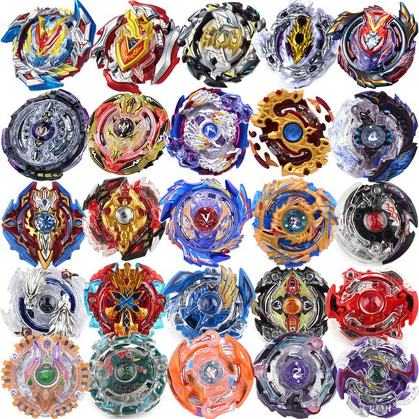 top popular 29 New Style Beyblades Without Launcher and Box Toys Toupie Beyblade Burst Arena Metal Fusion God Spinning Top beyblade Toy 2020