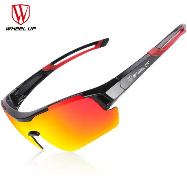 3 объектива UV400 Велоспорт очки Мужчины Женщины водонепроницаемый покрытие аэродинамические велосипед поляризованные солнцезащитные очки MTB Велоспорт очки