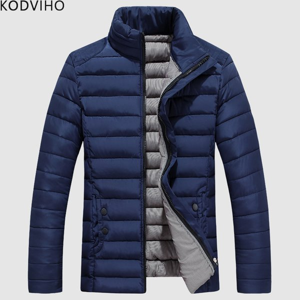 Mens Parka Jacket Winter Coat Men Cotton Padded Jackets Man Puffer Warm Quilted Coats Male Casual Thick Puffy Parkas Hombre 2019