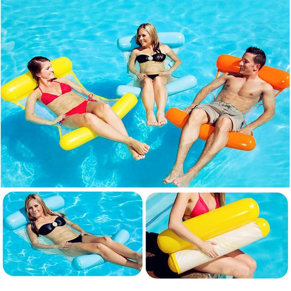 2019 Inflatable Swimming Pool Deck Chair Float Toy Men Women Water Toy  Dormettes Adults Swim Pool Accessories From Happy_home1, $11.88 | DHgate.Com