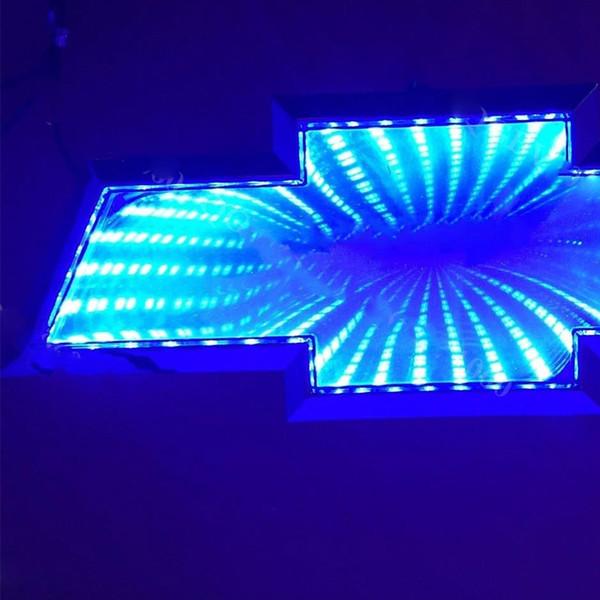 3D: Azul