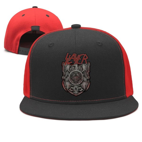 Slayer eagle Plakát Design Snapback Flat Brim Baseball Caps Hip-Hop Dad Hat Adjustable Style